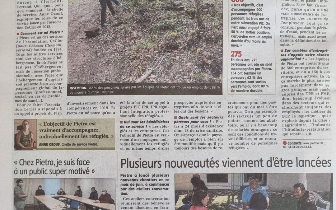 PIETRA dans la presse #4