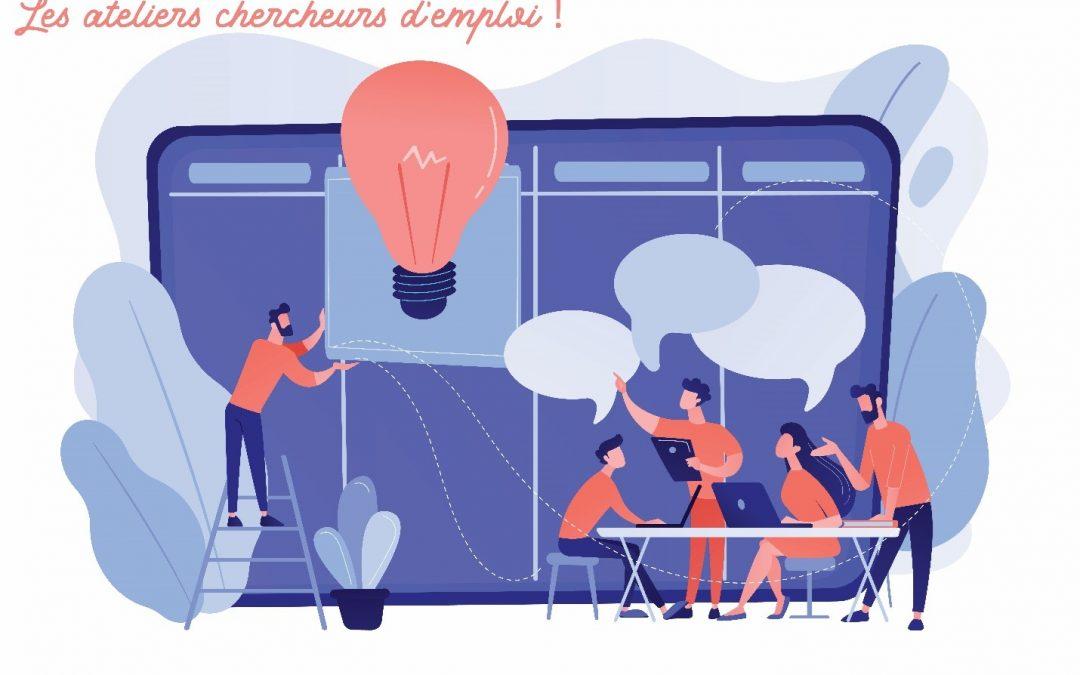 Lancement des Ateliers Chercheurs d'Emploi !