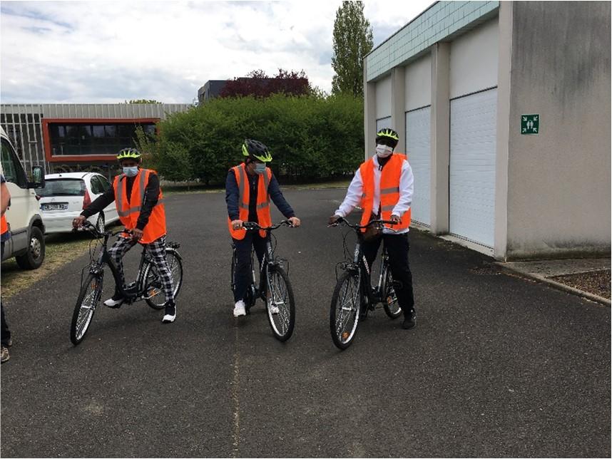 Bilan de l'atelier vélo avant la reprise !